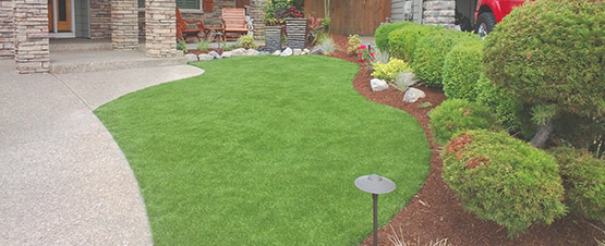synthetic turf lawns
